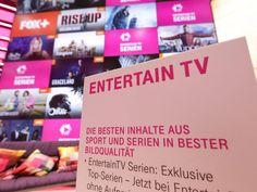 Entertain TV von der Telekom New Channels New Streaming from Netflix and UFA and FOX and and .... IFA 2017 Berlin