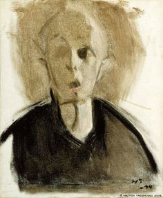 Helene Schjerfbeck, Self Portrait 1944