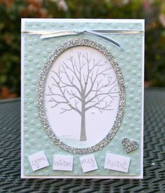 This card was created for my March Online Stamp Class. It was part of a Four Seasons card kit I created. For more details, please visit my blog: http://krystalscardsandmore.blogspot.com/2015/04/stampin-up-sheltering-tree-winter-and.html