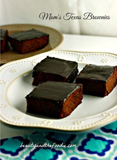 Mom's Texas Brownies, paleo grain free/ beautyandthefoodie.com - use swerve instead of coconut sugar which isn't low carb at all (Texas Sheet Cake) (buttermilk brownies)