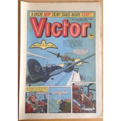 Victor #1213 Comic UK May 1984 Football Sport Action Adventure