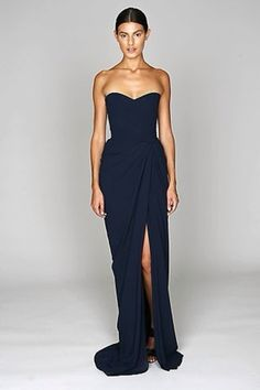 plusandcute.com navy-strapless-maxi-dress-19 #cuteclothes