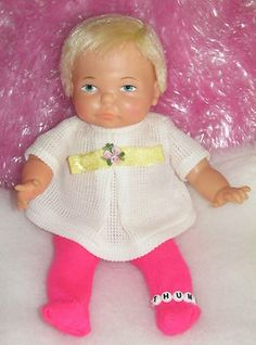 Thumbelina! I was just tiny when I had this doll, but I remember her like it was yesterday! She was my favourite toy!