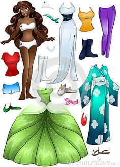 African American Girl Princess Dress Up