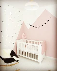 My little girls room white black and old pink. Big Girl Rooms black Girls pink r Big Girl Rooms big black Girl Girls pink room Rooms White Baby Bedroom, Baby Room Decor, Girls Bedroom, Master Bedroom, Pink Toddler Rooms, Little Girl Rooms, Baby Room Colors, Pink Room, Baby Room Design