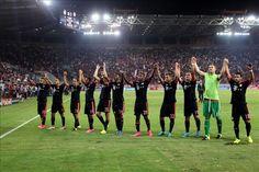 """El Bayern califica de """"desproporcionada"""" la actuación de la policía griega  http://www.elperiodicodeutah.com/2015/09/deportes/el-bayern-califica-de-desproporcionada-la-actuacion-de-la-policia-griega/"""