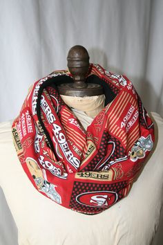 NFL San Francisco 49ers Fleece Lined Infinity by GameDayBella