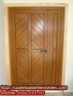 Bảng giá cửa nhựa lõi thép vân gỗ