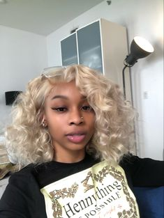Baddie Hairstyles, Black Girls Hairstyles, Weave Hairstyles, Cute Hairstyles, Hairdos, Hair Inspo, Hair Inspiration, Curly Hair Styles, Natural Hair Styles