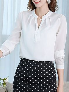 Women's Tops | Trendy and Cheap Womens Tops Online Sale Kurta Designs, Blouse Designs, Cheap Womens Tops, Sleeves Designs For Dresses, Fashion Dresses, Casual Dresses, Blouse Dress, Trendy Tops, Blouse Styles