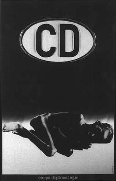 Roman Cieslewicz - Corps diplomatique - 1974