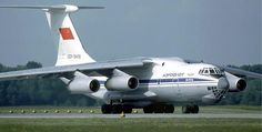 Aeroflot Il-76 freighter