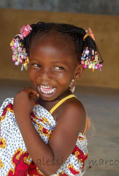 Africa |  A gorgeous smile from the Ivory Coast | © Alessia de Marco