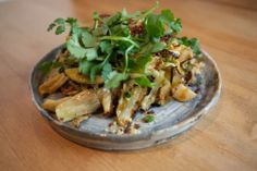 Recipe: Burmese-style Roasted Cabbage, Peanut Brittle, Apple, Fermented Chile-Maple Vinaigrette, and Mint
