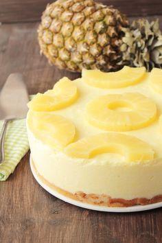 Tarta de piña sin horno y otras 8 tartas fáciles sin horno