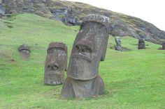 Rano Raraku, Easter Island  June, 2010
