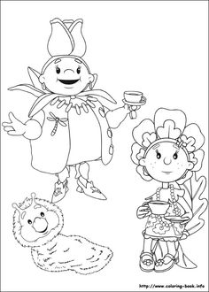 Fifi and the Flowertots coloring picture