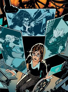 Barbara Gordon, famous as Batgirl and Oracle, is the daughter of Commissioner James Gordon of Gotham and was introduced in Detective Comics She … Dc Batgirl, Batwoman, Nightwing, Comic Book Artists, Comic Book Characters, Comic Character, Comic Books, Character Design, Barbara Gordon Oracle