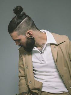 Men's Toupee Human Hair Hairpieces for Men inch Thin Skin Hair Replacement System Monofilament Net Base ( Mens Braids Hairstyles, Hairstyles Haircuts, Haircuts For Men, Hair And Beard Styles, Short Hair Styles, Mens Toupee, Popular Haircuts, Grunge Hair, Samurai