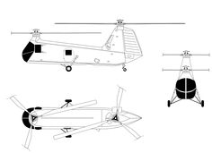 File:Piasecki H-25 orthographical image.svg