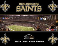Going to be here next weekend!! New Orleans Superdome