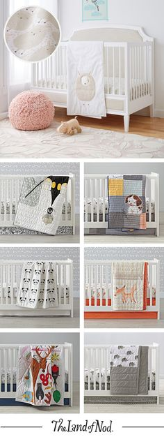 Go wild in your nursery with the best collection of animal crib bedding, fitted sheets, changing pad covers and more.