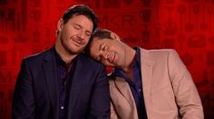 Pete and Manu :) mkr one of my favorite tv shows Favorite Tv Shows, My Favorite Things, Kitchen Rules, Films, Movies, Chefs, Addiction, Menu, Actors