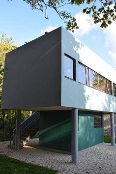 La maison du Gardien/Chauffeur de la Villa Savoye- Le Corbusier cours