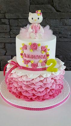 Hello Kitty cake                                                                                                                                                      More