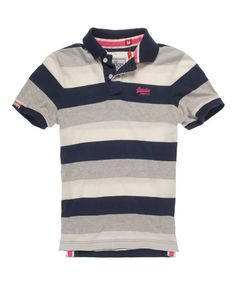 Cult Superdry Hoopstripe Polo Shirt £30 Item Code:010105100017