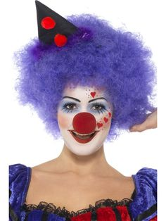 girl clown makeup idea