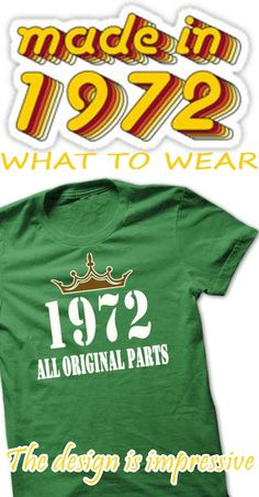 Get it a T shit and s h a r e to your friends and your family. MADE IN 1972 - ALL ORIGINAL PARTS- KOOL