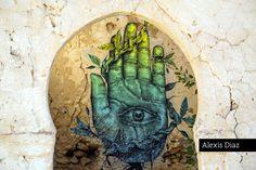 Alexis Diaz @ Djerbahood - Erriadh, Djerba island, Tunisia