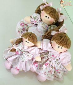 Trio Bonecas para Nichos