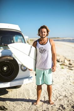 Michael in the Clean Currents nautilus jersey tank. Learn more at http://www.cleancurrentsapparel.com