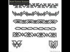 25 Best Nordic Armband Tattoo Designs Images Arm Tattoo Arm