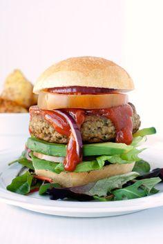 Hamburger vegetariano di lenticchie (lentil veggie burger)