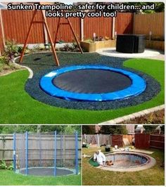 Cool backyard idea!