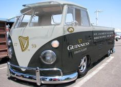 ♠Since I'm a Guinness lover. Kit needs to buy me this VW. Thanks :0P
