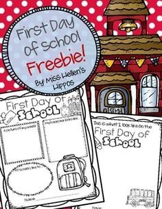 "Enjoy this Freebie, and thank you for taking a quick second to rate me! :)  This First Day of School freebie is a snippet from my new product, ""School Days, A Monthly Memory Book"" available now!  Use one or all three of the pages in this freebie to document your students first day, and save as a keepsake for an end of year memory book."