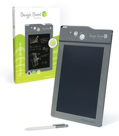Improv Electronics' new Boogie Board writing tablet. Send doodles and notes directly to your computer!