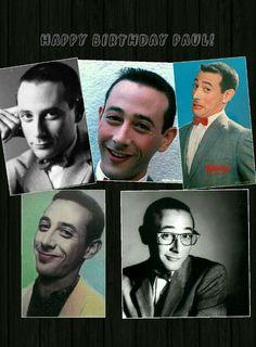 Happy Birthday Paul, Pee Wee's Playhouse, Paul Reubens, Pee Wee Herman, Comedians, Acting, Adventure, Film, People