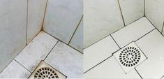 Kúpeľňa žiari čistotou aj bez námahy: Pripravte si tento domáci čistiaci prostriedok a špina sa bude rozpúšťať pred očami! Tile Floor, Flooring, Crafts, Manualidades, Tile Flooring, Wood Flooring, Handmade Crafts, Craft, Arts And Crafts