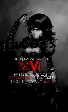 There's a devil in every soul