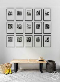 Photo wall Same size