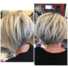 Wedding Hairstyles Front Victory Rolls is part of Vintage Victory Rolls From S Any Woman Can Copy - trendy hair cuts carre colour Short Bob Hairstyles, Pretty Hairstyles, Wedding Hairstyles, Hairstyle Ideas, Inverted Bob Haircuts, Stacked Haircuts, Male Hairstyles, Casual Hairstyles, Pixie Haircuts