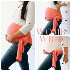 Supporting your belly during your pregnancy is absolutely essential for a happy, healthy, pain-free pregnancy and a low risk delivery. Our in style WOMB WRAPS are made from luxiourious bamboo stretch fabric giving you continuous pain-free support 24/7. Wear your Womb Wrap to relieve belly, back, hip, sciatic, sacroiliac, round ligament, stretch mark, diastasis recti, abdominal separation pain. Relax the womb for optimal baby positioning!