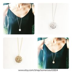 new at #somersault1824 West Nile virus necklace in sterling silver or brass.
