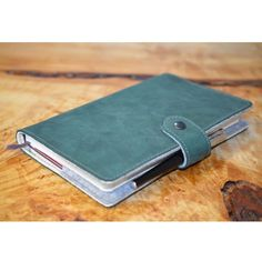 Moleskine Organic Leather, Felt Sleeve,Cover - TICKLER JACKET   Handmade   Handcrafted   Bespoke   Artisan   Made to Order   One of a Kind   Journal   Tickler  http://etsy.me/2fvTxtL
