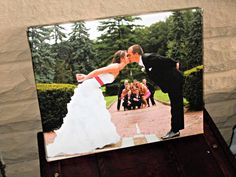 Isn't this #wedding canvas print gorgeous? | Easy Canvas Prints review via @fitncookies
